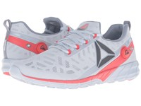 Reebok Zpump Fusion 2.5 Cloud Grey Asteroid Dust Black Riot Red White Men's Running Shoes Gray