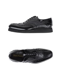 Cesare Paciotti Lace Up Shoes Dark Brown