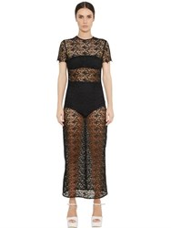 Ermanno Scervino Techno Lace Dress