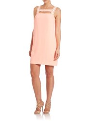 Lilly Pulitzer Mason Beaded Shift Dress Peachy Pink