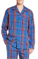 Polo Ralph Lauren Men's Woven Pajama Top Brighton Plaid