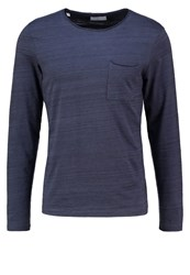 Selected Homme Shdpimaflorence Long Sleeved Top Ombre Blue