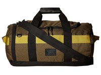 Burton Backhill Duffel Bag Small 40L Jungle Heather Diamond Ripstop Duffel Bags Black