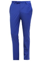 Noose And Monkey Ellroy Suit Trousers Kobalt Royal Blue