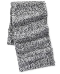 Ryan Seacrest Distinction Men's Icelandic Yarn Scarf Only At Macy's Charcoal Grey