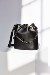 Cooperative Extra Large Grommet Bucket Bag Black