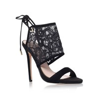Kurt Geiger Indigo High Heel Sandals Black