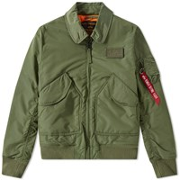 Alpha Industries Cwu Vf Tt Jacket Green
