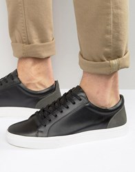 Kg By Kurt Geiger Lo Trainers In Black Leather Black