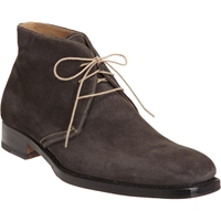 Harris Suede Square Toe Chukka Gray
