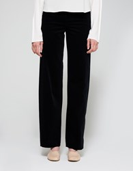 Christophe Lemaire High Waisted Pants Midnight Blue