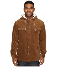 Rip Curl Dawn Patrol Cord Jacket Brown Men's Coat