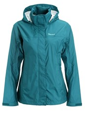 Marmot Precip Hardshell Jacket Deep Teal Dark Green