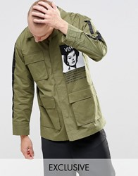 Vision Air Parka Jacket Khaki Green
