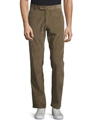 Black Brown Corduroy Pants Walnut