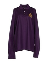 Ralph Lauren Collection Polo Shirts Purple