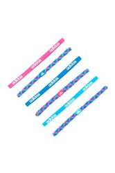 Adidas Braid Hairband Pack Of 6 Pink