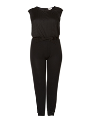 Persona Olbia Short Sleeve Jersey Jumpsuit Black