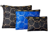 Lesportsac Luggage 3 Piece Travel Set Links Multi Travel Pouch
