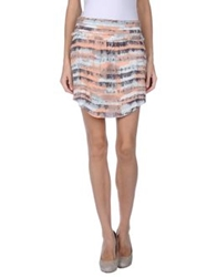 By Zoe Mini Skirts Pink