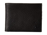 Will Leather Goods August Billfold Black Bill Fold Wallet