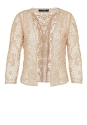 Hallhuber Sheer Lace Jacket Yellow