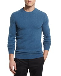 Theory Vetel Cashmere Long Sleeve Sweater Teal Women's Beyond