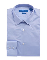 Vince Camuto Solid Dress Shirt Blue