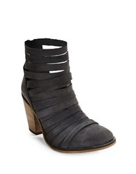Free People Hybrid Strappy Ankle Boots Black