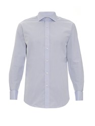 Gieves And Hawkes Double Cuff Cotton Poplin Shirt