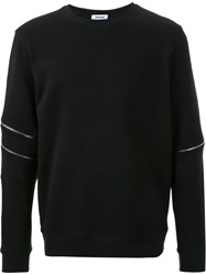 Tim Coppens Zip Detail Sweatshirt Black