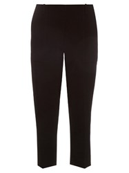 Dion Lee Mid Rise Cropped Cady Trousers