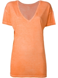 Majestic Filatures V Neck T Shirt