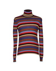 Prada Knitwear Turtlenecks Men Red