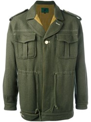 Jean Paul Gaultier Vintage Military Style Jacket Green