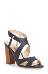 Women's Sole Society 'India' Sandal Navy Leather