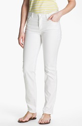 Lafayette 148 New York Curvy Fit Jeans White