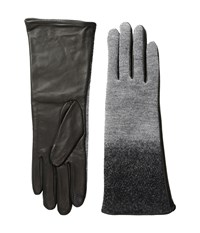Echo Touch Ombre Leather Gloves Black Extreme Cold Weather Gloves