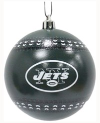 Memory Company New York Jets Ugly Sweater Ball Ornament Black