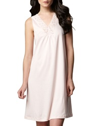 Hanro Moments Tank Gown Rose Rose X Small