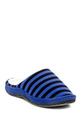 Gold Toe Striped Slipper Multi