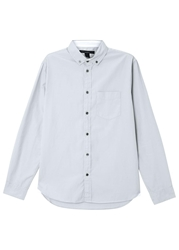 Marc By Marc Jacobs Grey Cotton Shirt