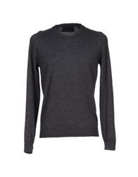 Les Hommes Sweaters Grey