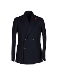 People Suits And Jackets Blazers Men Dark Blue