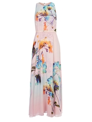 Wallis Floral Maxi Dress Multi Coloured