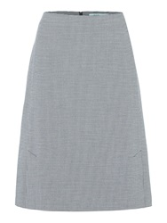 Dickins And Jones A Line Skirt Navy And White