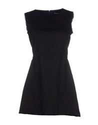New York Industrie Short Dresses Black