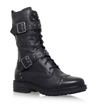 Kg By Kurt Geiger Sting Biker Boots Female Black