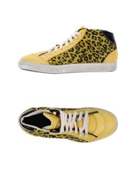 Primabase High Tops And Trainers Yellow