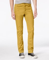 American Rag Men's Slim Fit Stretch Jeans Only At Macy's Dull Gold